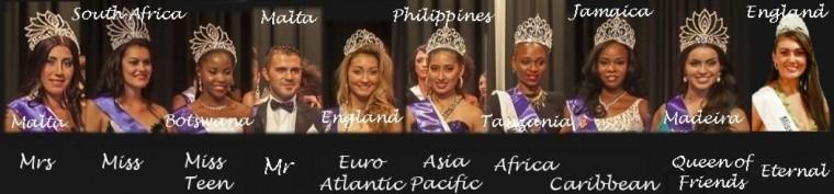 Pageant winners 2013