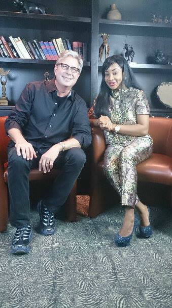 TV Host Princess Halliday and Don Moen