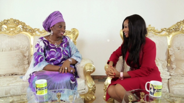 TV Host Princess Halliday and wife of River State Governor Her Excellency Dame judith Amaechi