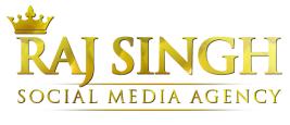Raj Singh Social Media Agency Logo